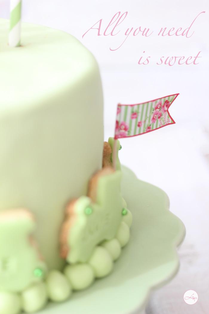 Grüne Torte