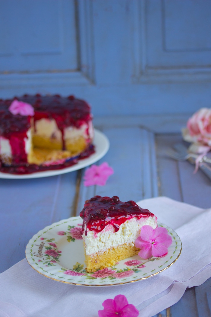 Rote Grütze Kuchen | Lisbeths