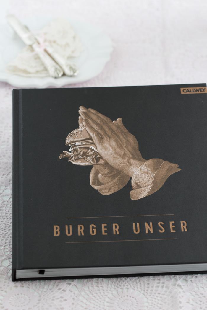 Birnen Blätterteig Burger