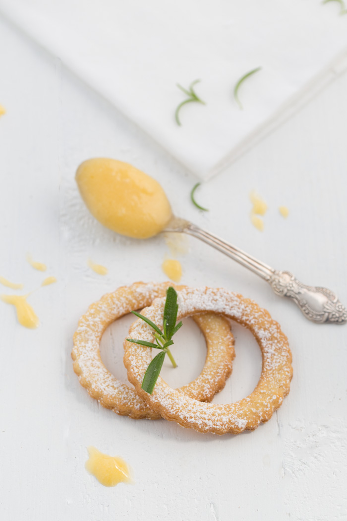 Gin Tonic Lemon Curd Cookies