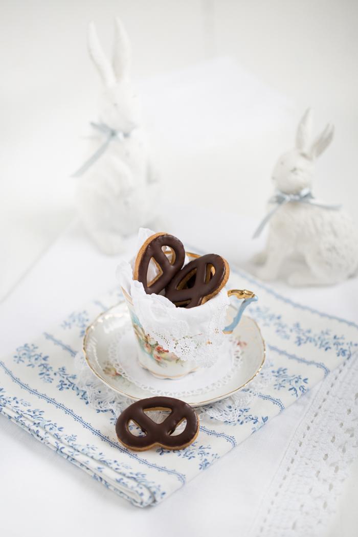 Schokoladen Brezel-