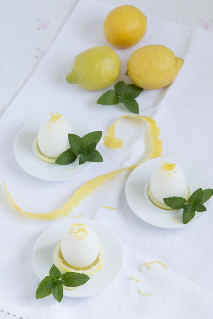 Zitronen Minz Sorbet