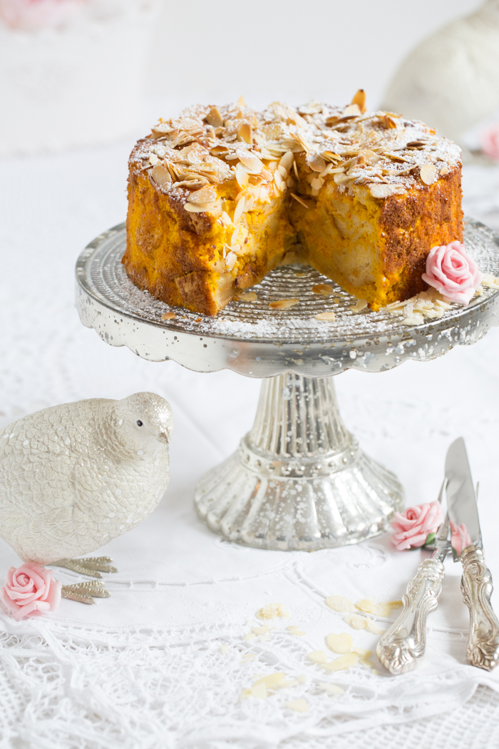 Kürbis Croissant Kuchen
