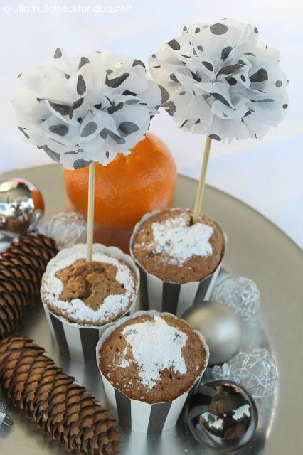 Orangen Nougat Muffins