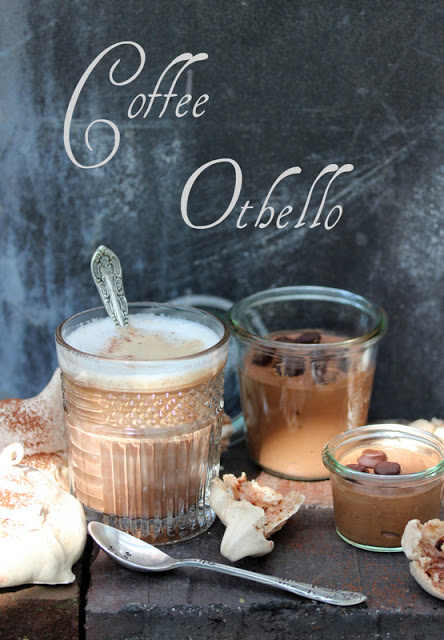Coffee Othello meets Katie & Grandmas Mousse au Chocolat