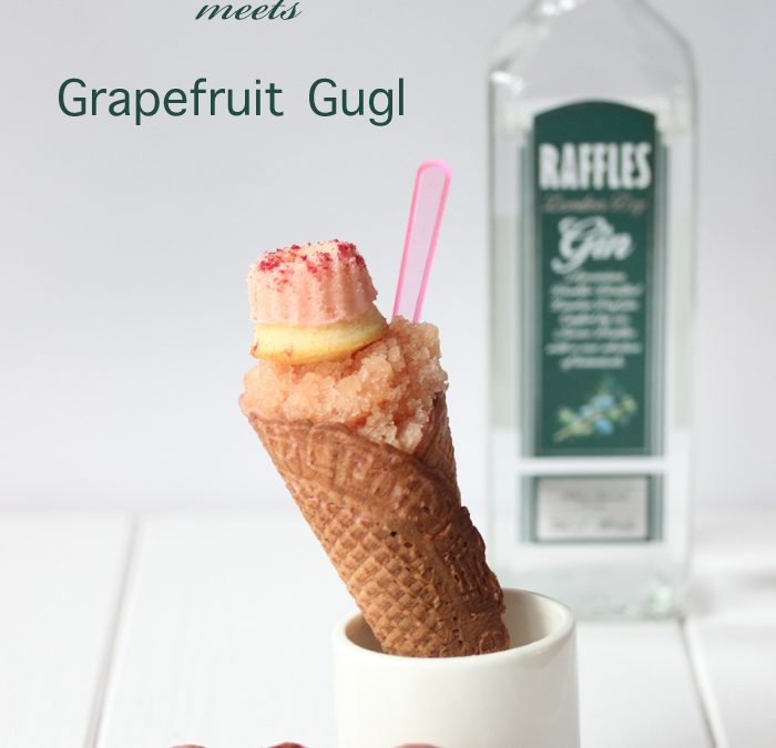 Gin Granita & Grapefruit Gugl  Tatort Knabberei