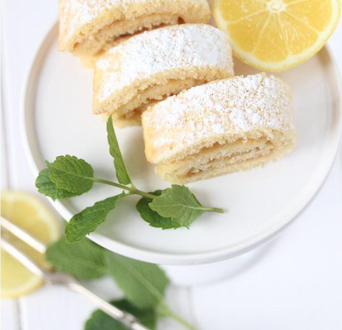 Zitronen Minz Biskuit {Mini}