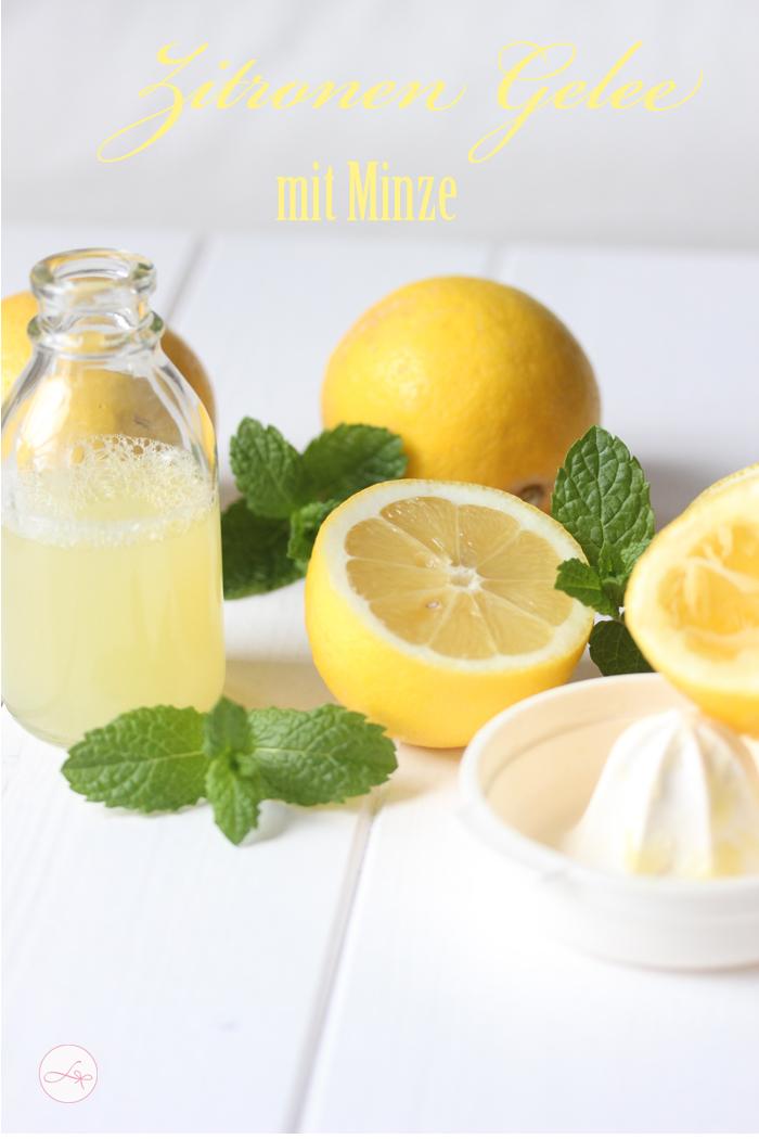 Zitronen Gelee