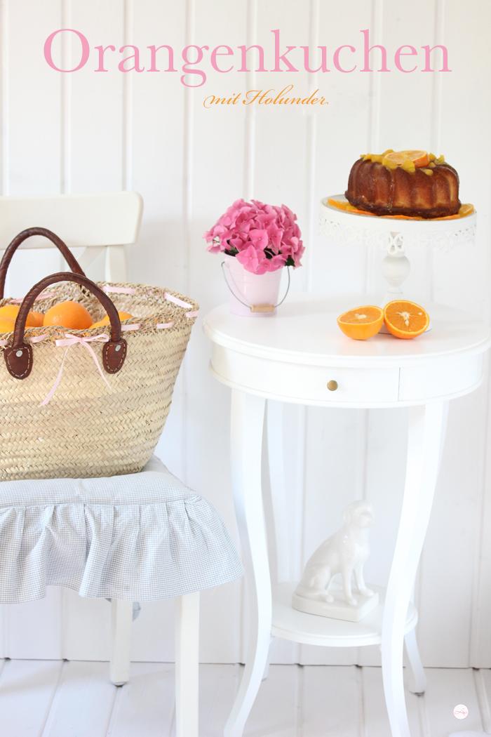Pastel de Naranja {Orange Cake}