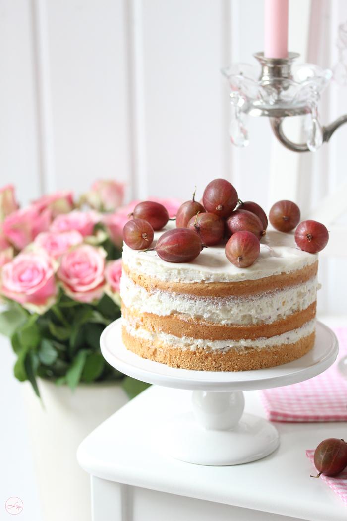 Stachelbeer Torte