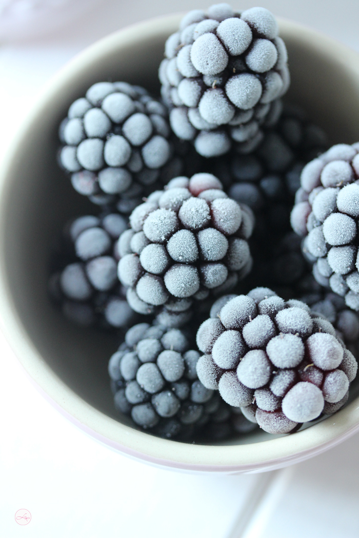 Frozen Blackberry Yogurt