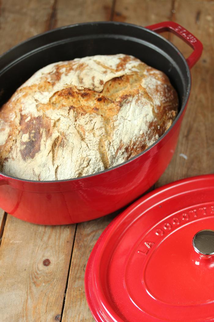 Landbrot mit bretonischer Butter