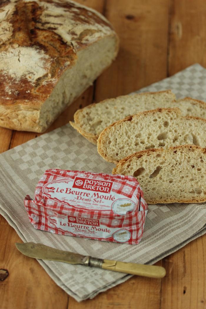 Landbrot & Bretonische Butter