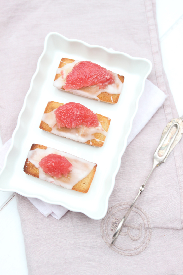 Grapefruit Friands