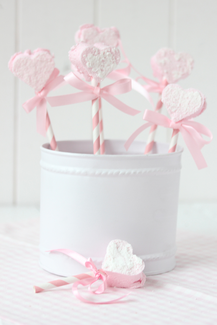 Marshmallow to go – be my Valentine♡