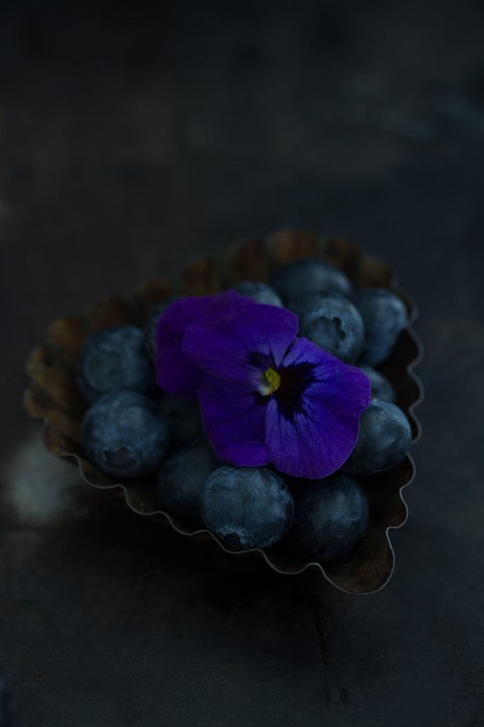 Blaubeer Frangipane