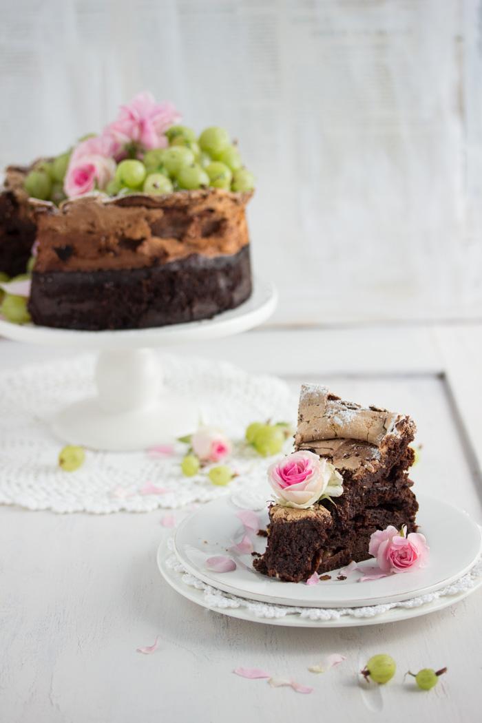 Stachelbeer Schokoladen Kuchen