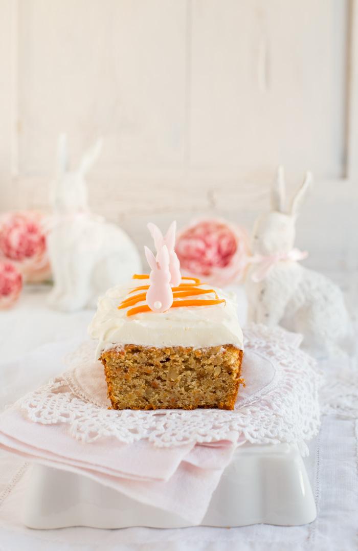 Karottenkuchen mit Marshmallow Fluff