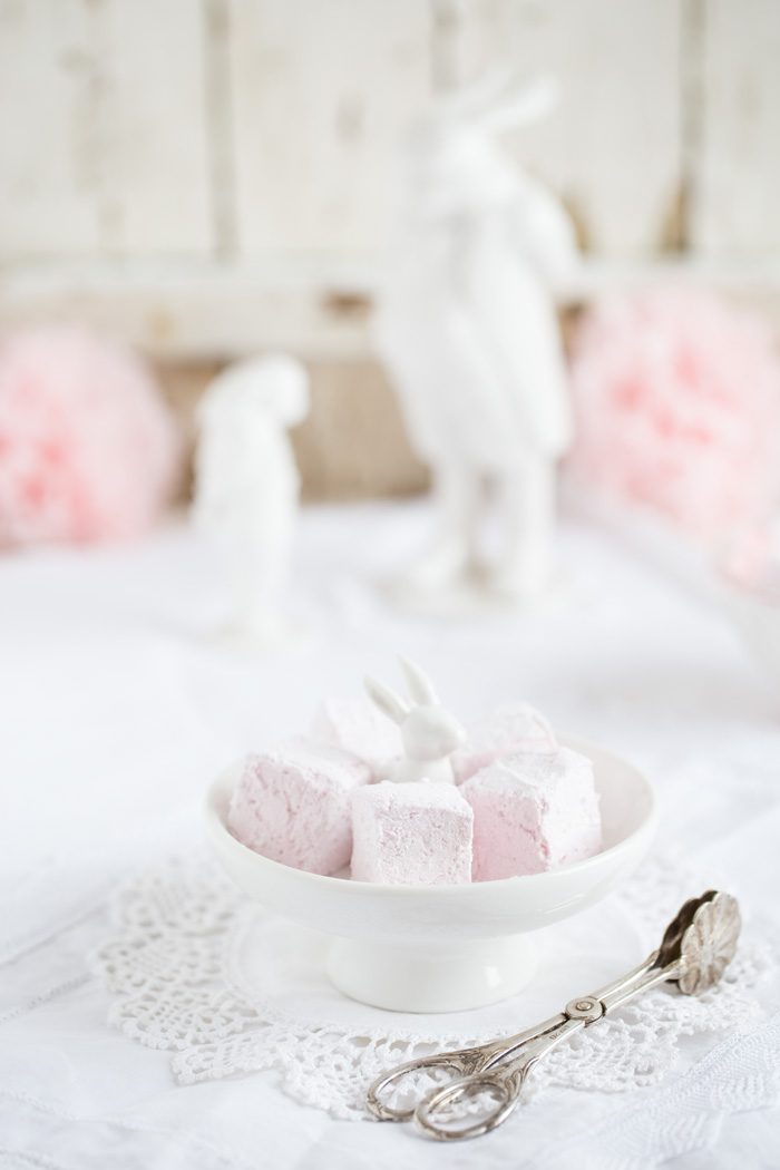 Himbeer Marshmallows