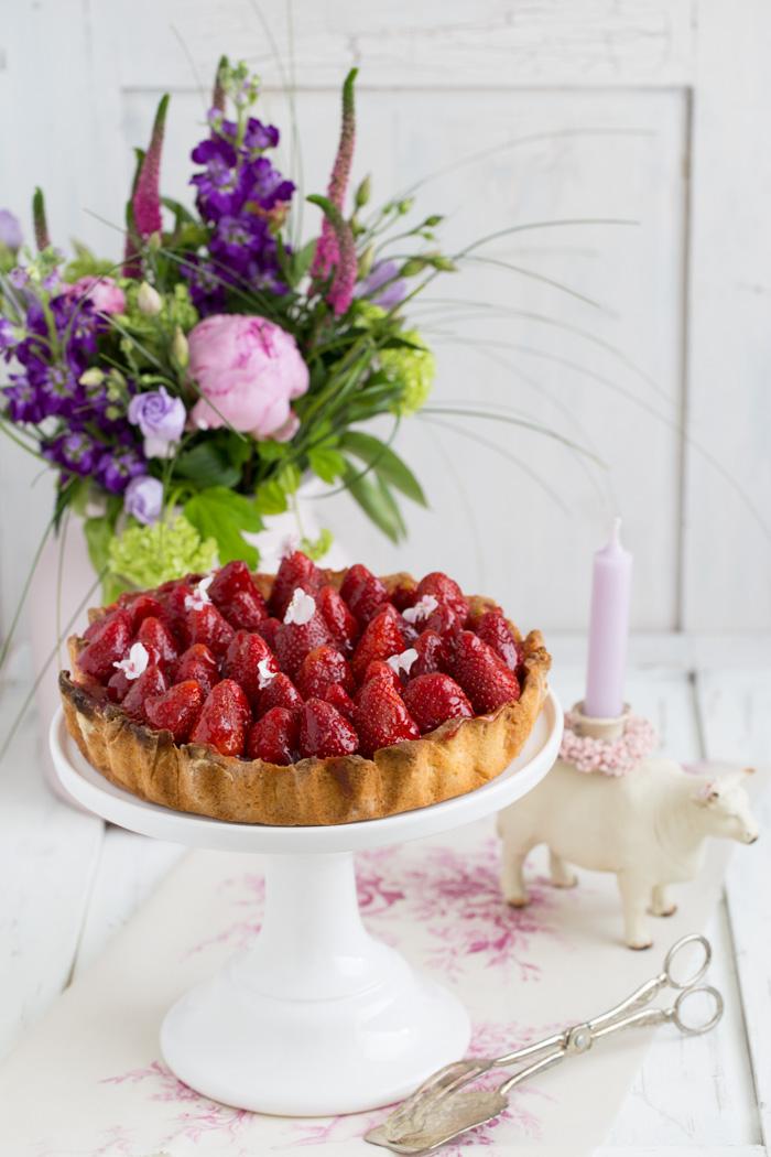 Erdbeertarte Elisabeth