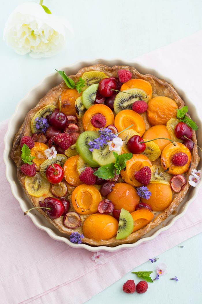 Glutenfreie Blätterteig Frangipane