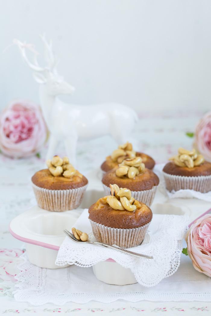 Kürbis Käsekuchen Muffins