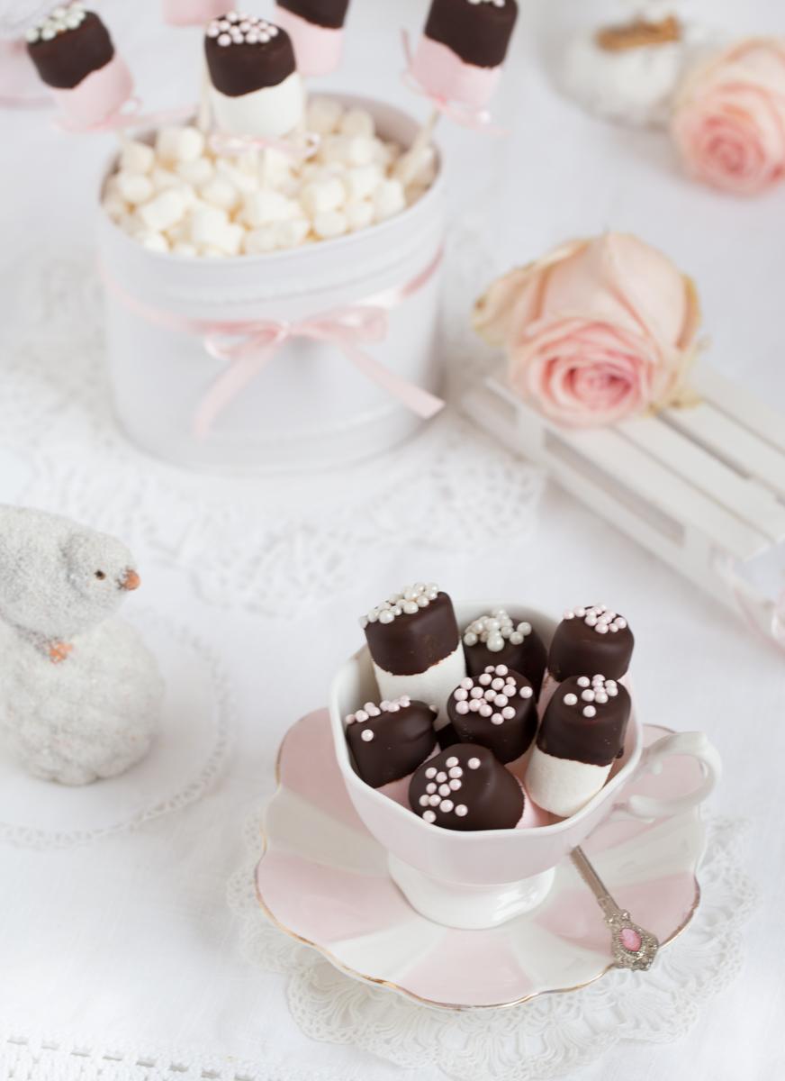 Marshmallow-Schokoladen-Snack
