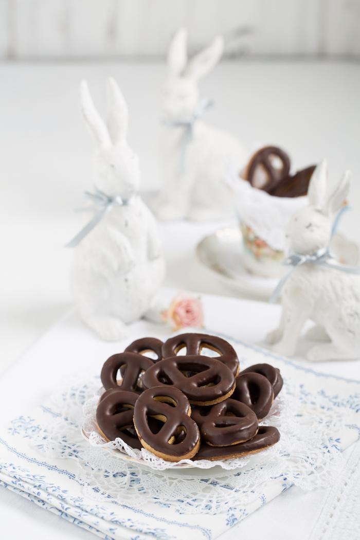 Schokoladen Brezel
