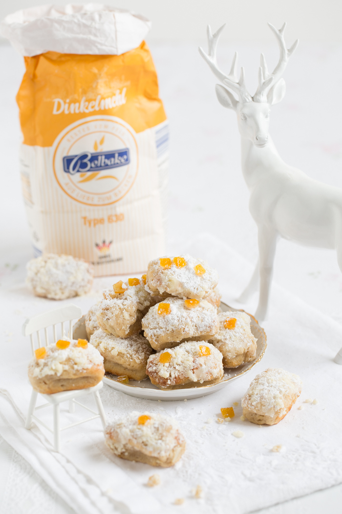 Mini Christstollen mit Orange & Tonkabohne