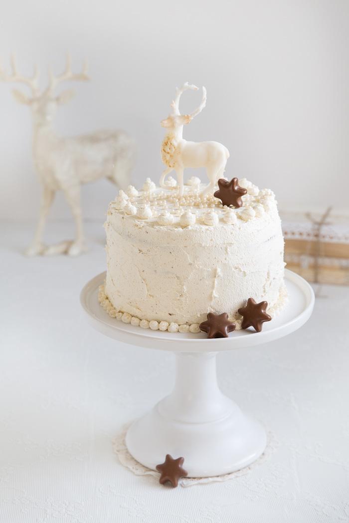 Eierlikörkuchen mit Trüffel-Sternen & fröhliche Weihnachten