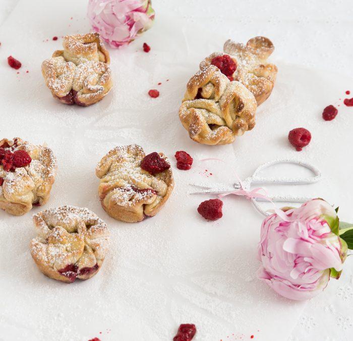 Himbeer-Hefe-Muffins & eine kleine Ofengeschichte