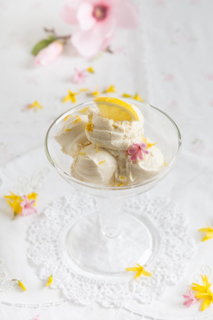 Ricotta Zitronen Eis