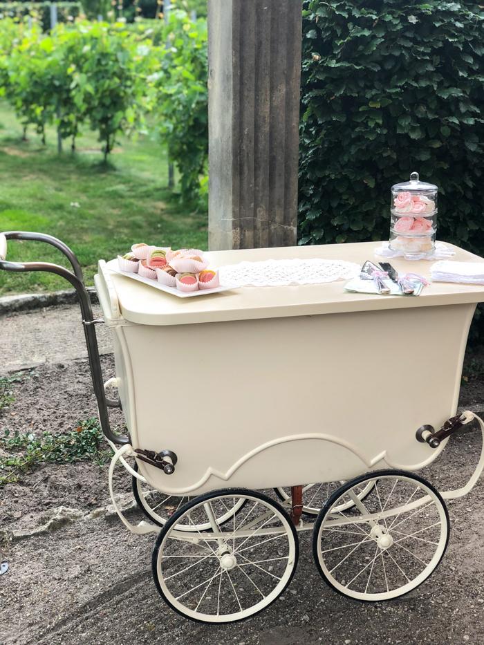 Hochzeits-teewagen