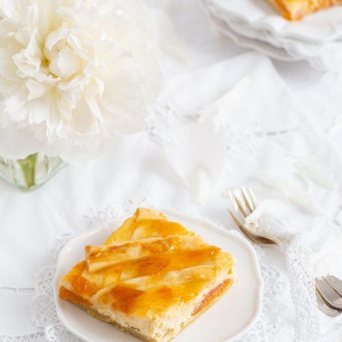 Ricotta-Aprikosenkuchen