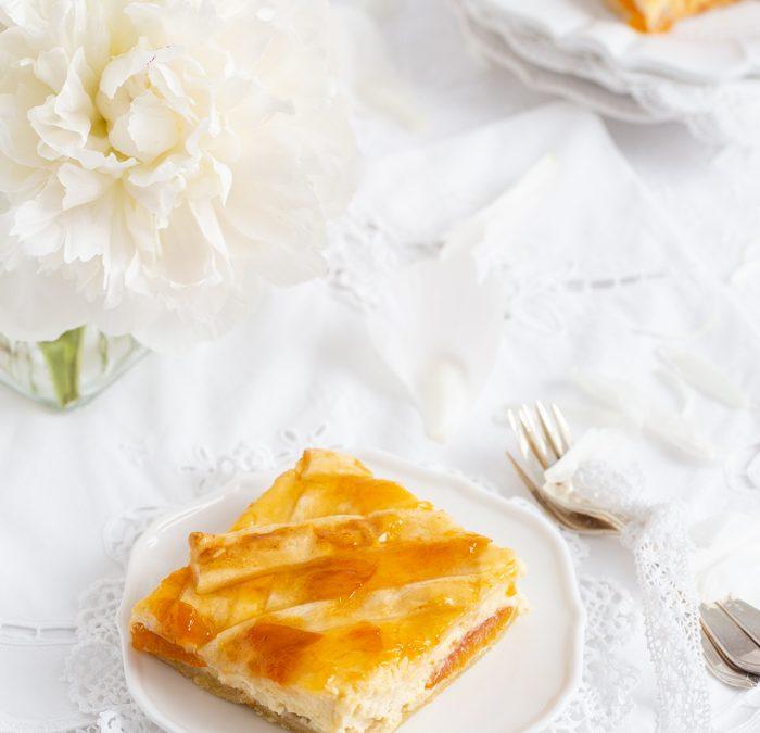 Ricotta-Aprikosenkuchen & Geschichten die das Leben schreibt
