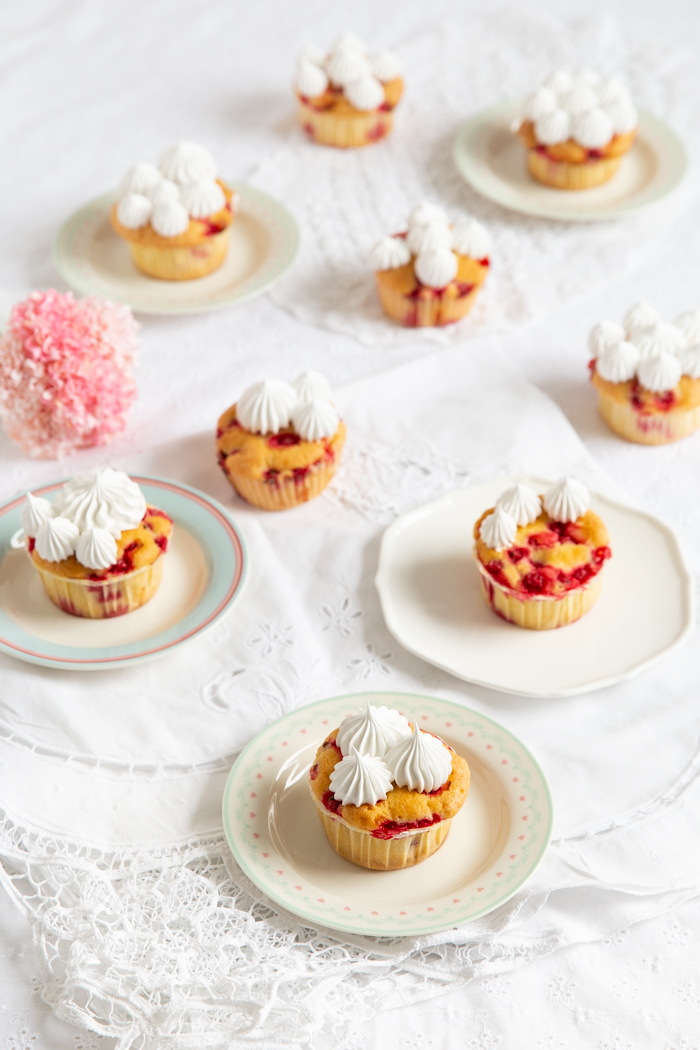 Johannisbeer-Cupcakes