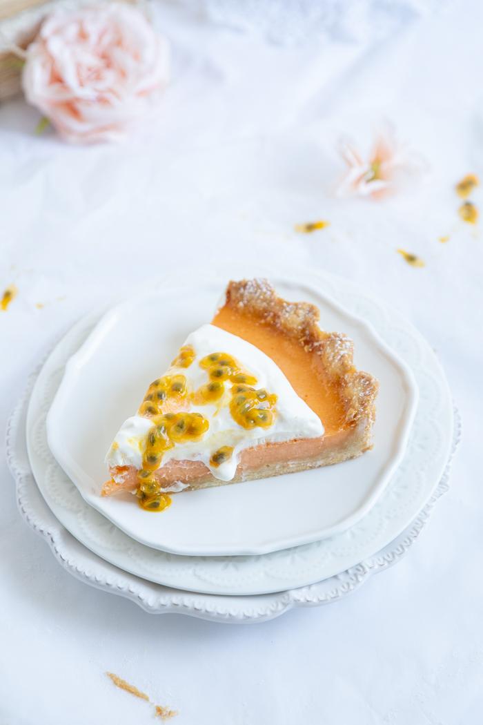 Orangen Maracuja Tarte