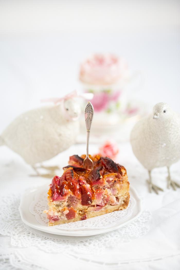 Apfel-Milchreiskuchen
