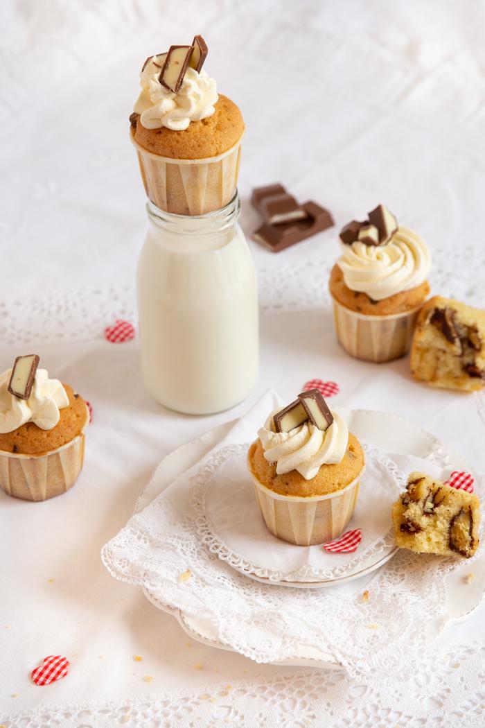 Kinder Riegel Cupcakes