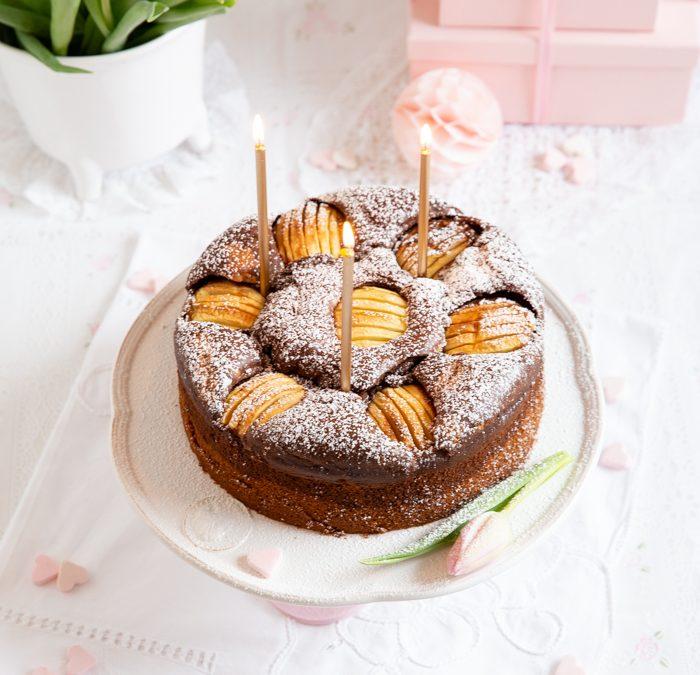 Apfel-Marmorkuchen