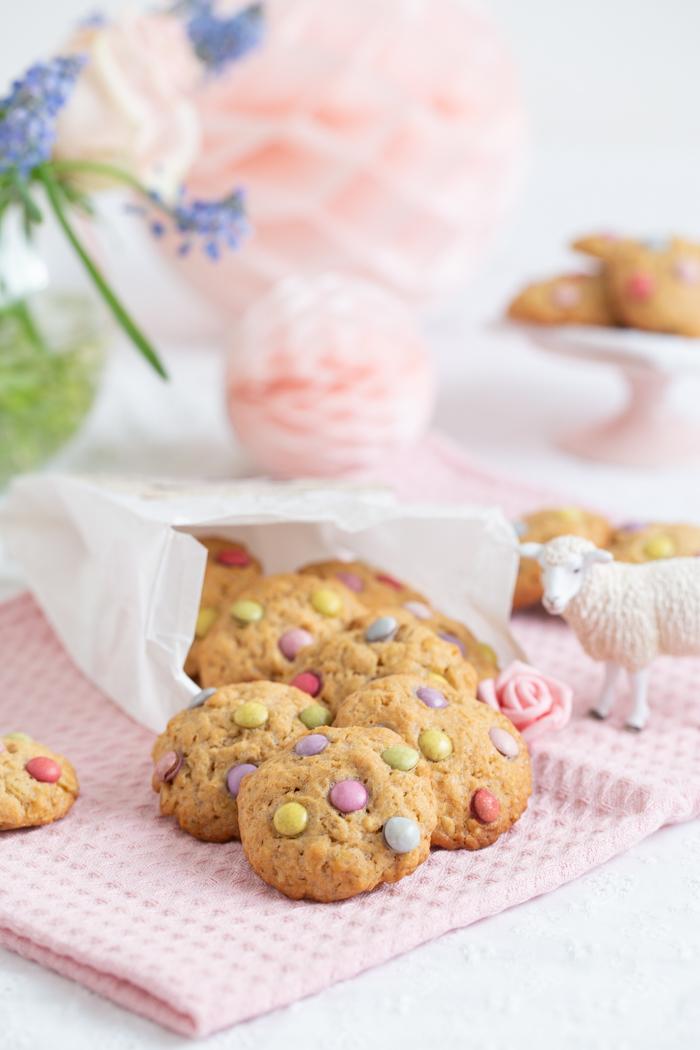Dinkel-Haferflocken-Cookies