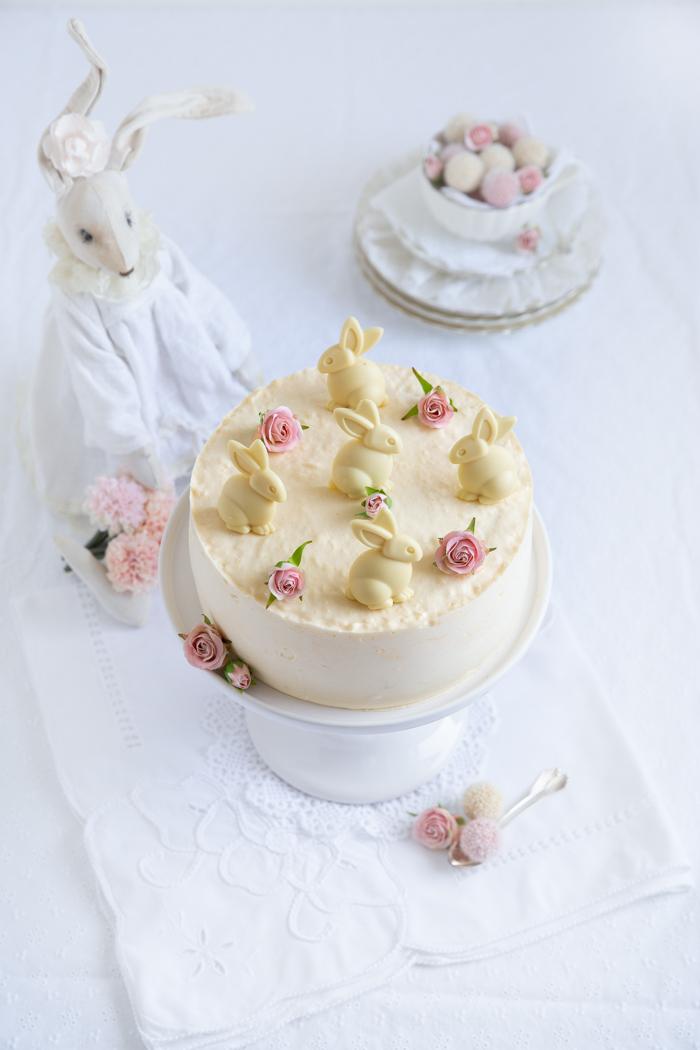 Champagner Torte & fröhliche Ostern