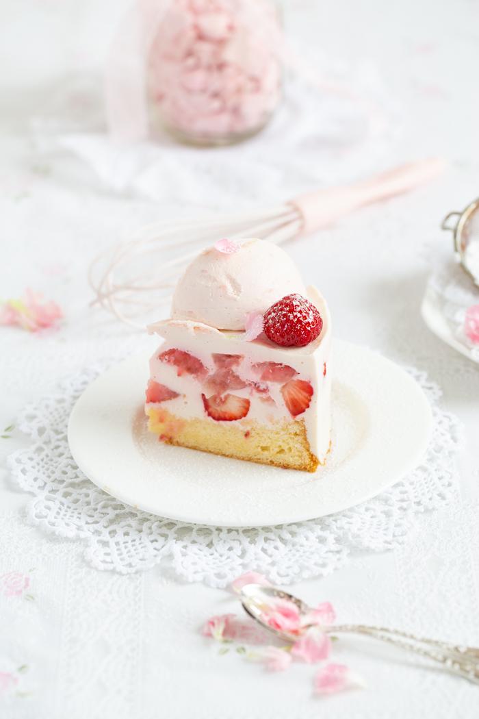 Erdbeer-Mousse-Torte_