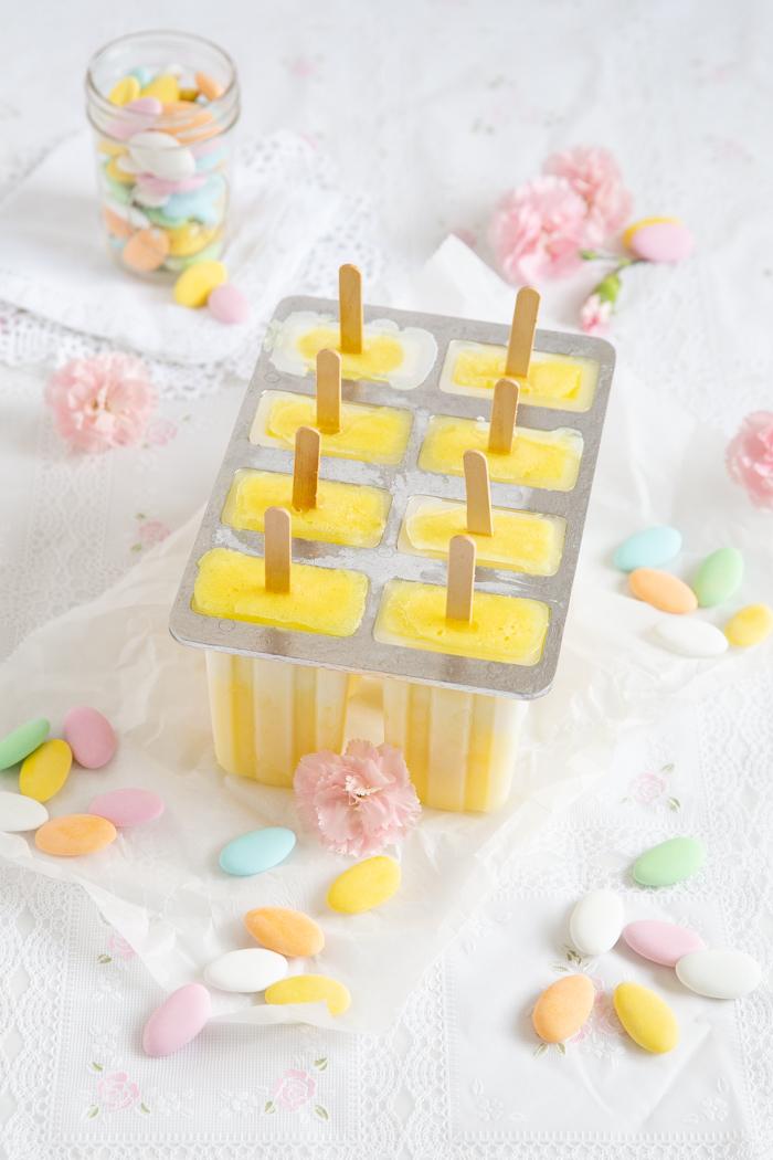 Ananas-Kokos-Popsicles