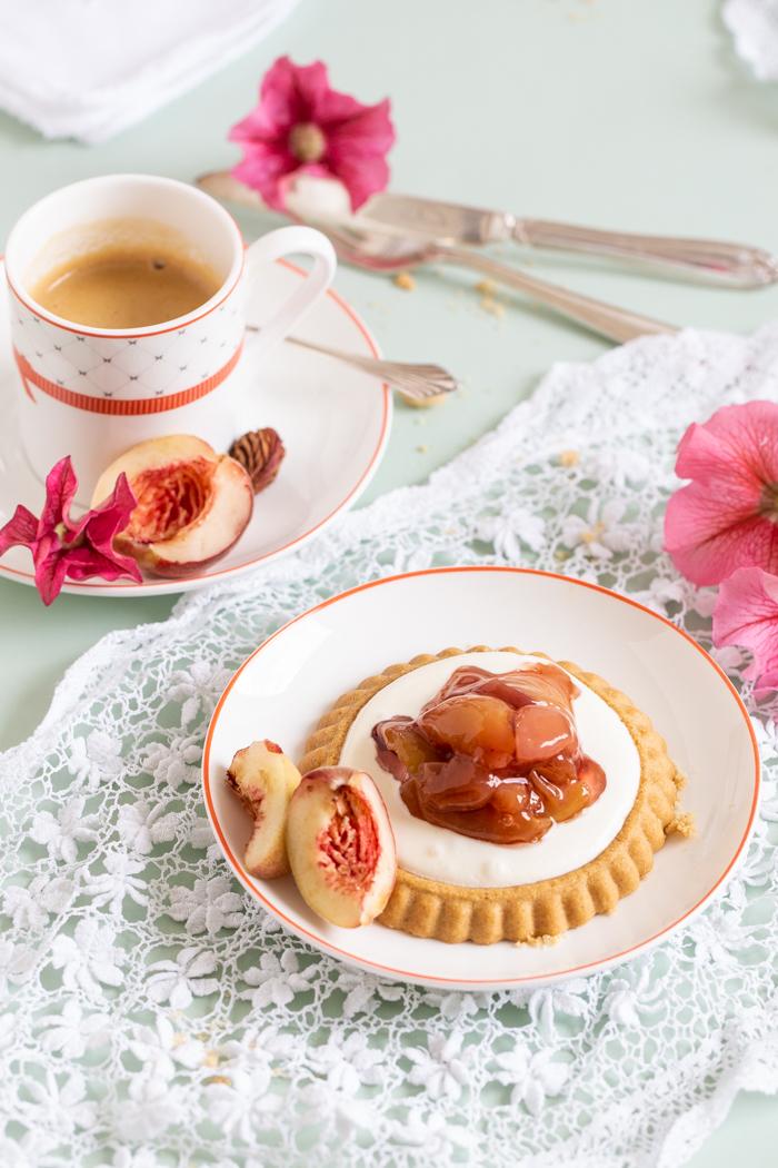 Pfirsich Tartelettes