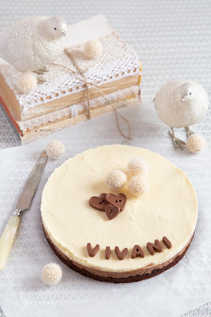 Dreierlei Vivani Schokoladentorte