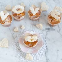 Rum Rosinen Muffins & Love Cookies