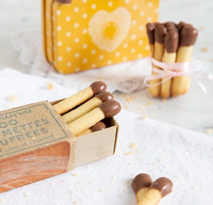Streichholz-Kekse