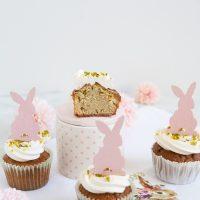 Cupcakes mit Zitronen-Buttercreme & Pistazien