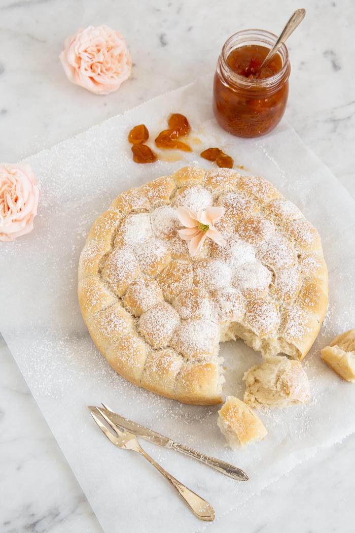 Bubble Bread oder der direkte Weg ins köstliche Hefeland